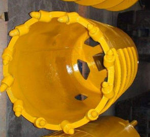 Construction Drilling Core Barrel Conical Bits Q345B Material For Various Hard Layers